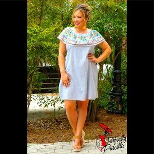 NWT Perfectly Priscilla striped Summer Love Dress